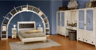 Camera da letto stile marina progettazione interni roma - Letto stile marina ...
