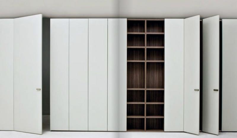 Armadio con funzione di parete divisoria - progettazione interni ...