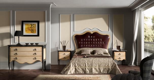 classico notte classic bedroom progettazione interni